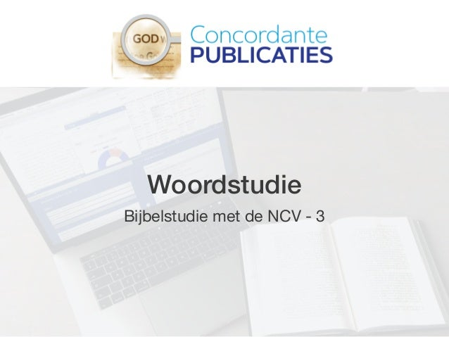 Woordstudie Bijbelstudie met de NCV - 3
