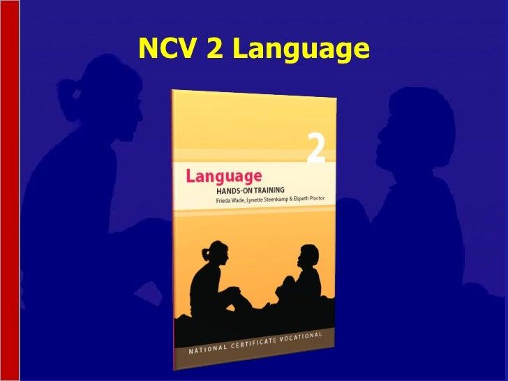 NCV 2 Language