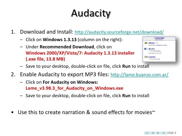 lame_enc dll audacity 2 2 1 download