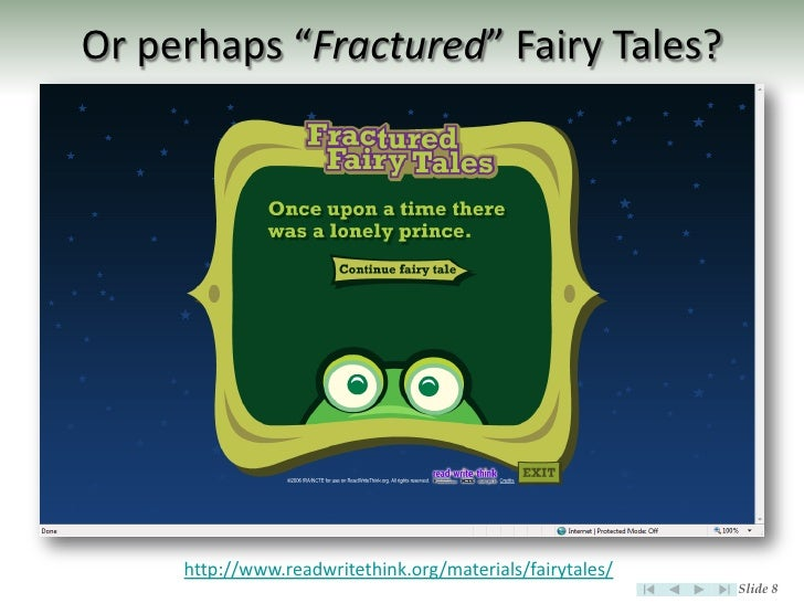 fractured fairy tale essays 2012-08-13 essay on fairy tales  fractured fairy tale with his eyes closed and his arm  a revolutionary piece in fairy tale clothing essay on human nature and.