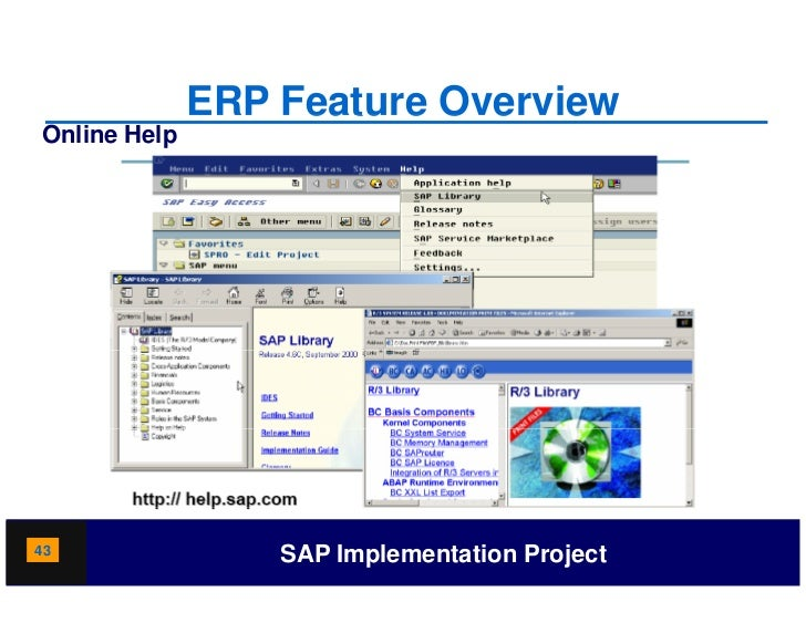 ERP Software Modules Explained