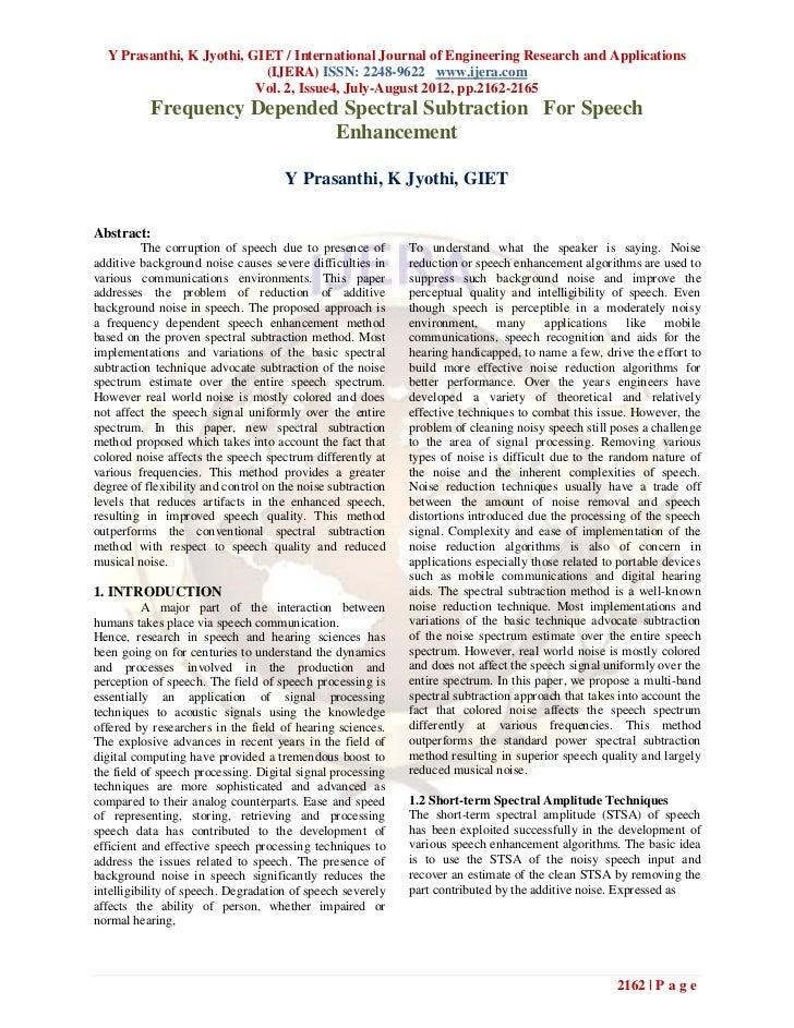 Y Prasanthi, K Jyothi, GIET / International Journal of Engineering Research and Applications                           (IJ...