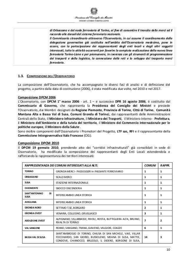 541ca8bed25b OSSERVATORIO PER L ASSE FERROVIARIO TORINO-LIONE