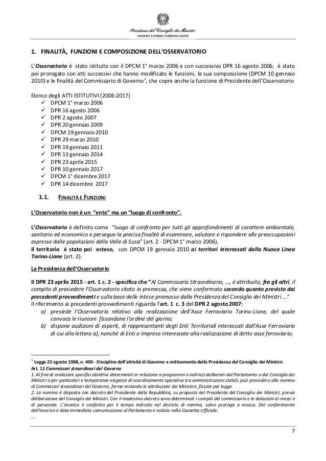 c605d3a07979 6 CRONOGRAMMADELL OSSERVATORIOPERL ASSEFERROVIARIOTORINO-LIONE  ATTIEDECISIONIDELCIPE  9.