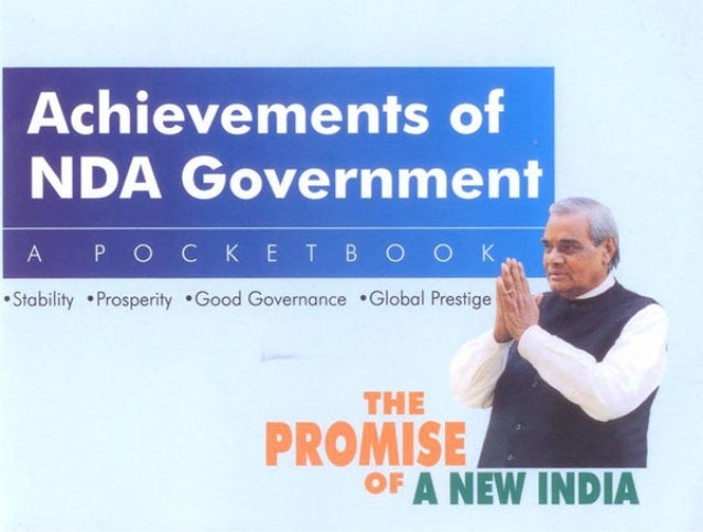 Achievements of NDA Government
