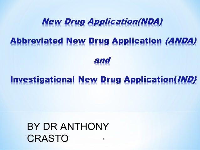 BY DR ANTHONY  CRASTO  1