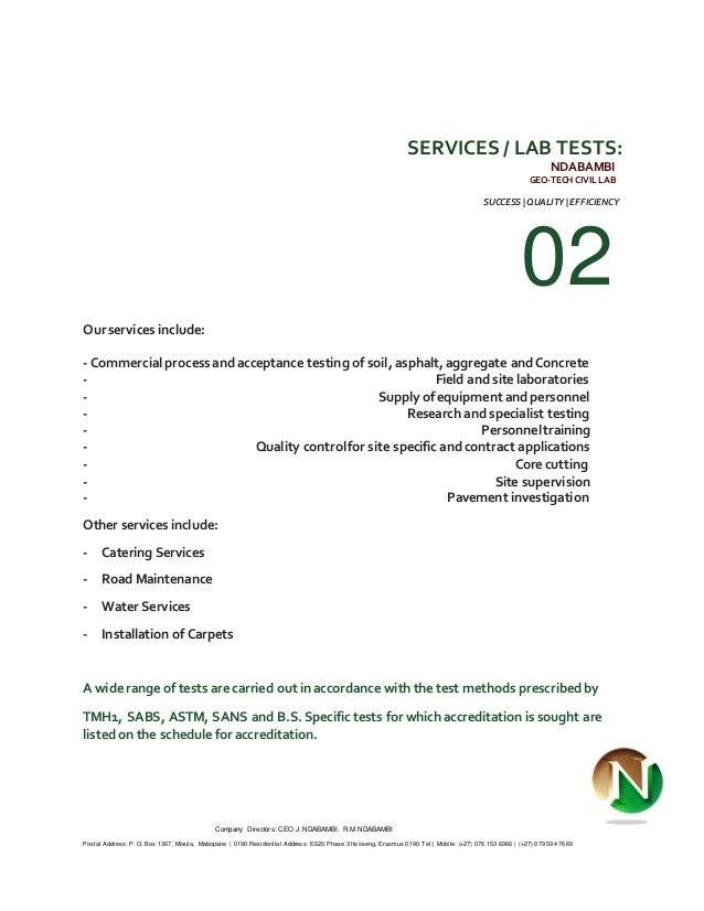Ndabambi geo tech profile company publicscrutiny Image collections
