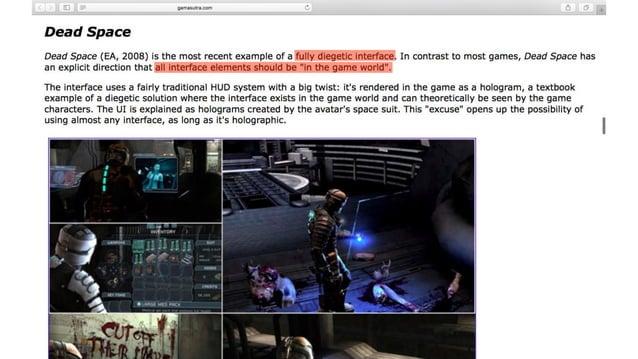 오… 이거다! HUD 대신 게임 세계의 요소로 녹여내는 UI