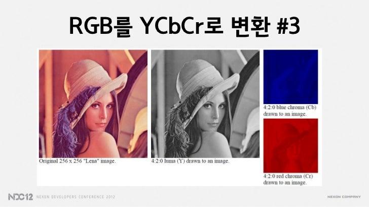 RGB를 YCbCr로 변환 #3