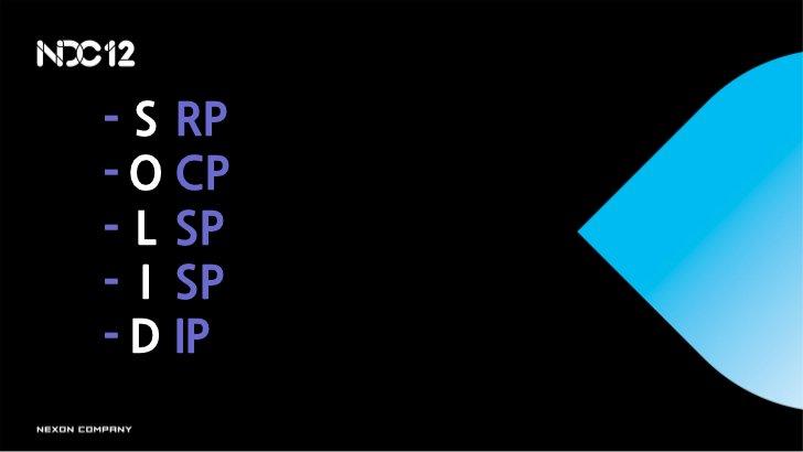 - S RP- O CP- L SP- I SP- D IP