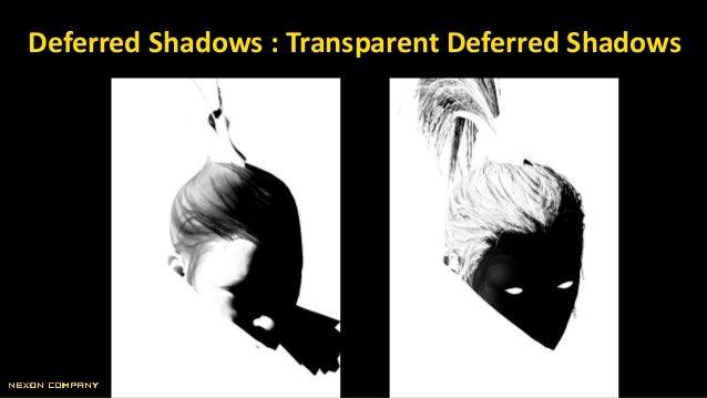 Deferred Shadows : Transparent Deferred Shadows