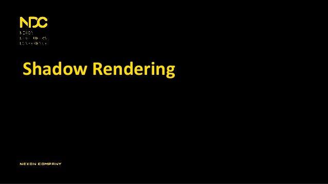 Shadow Rendering