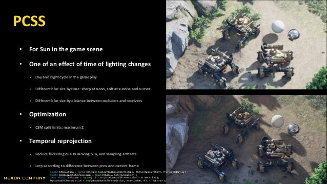 • For Sun in the game scene • One of an effect of time of lighting changes  Day and night cycle in the game play  Differ...