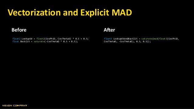 Before After Use Modifiers as Input Force += -normalize(Position) * Simulation.GravityStrength; Force += normalize(-Positi...