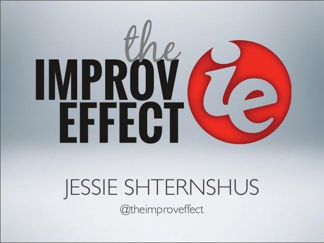JESSIE SHTERNSHUS @theimproveffect