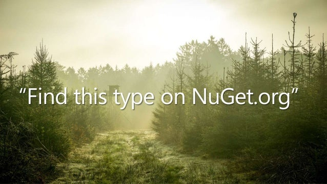 NDC Oslo 2019 - Indexing and searching NuGet.org with Azure Functions and Search Slide 3