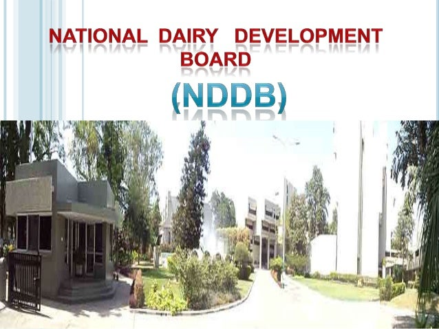 NDDB     was established in 1965(through an act of parliament at Anand).It is for providing facilities for increasing th...