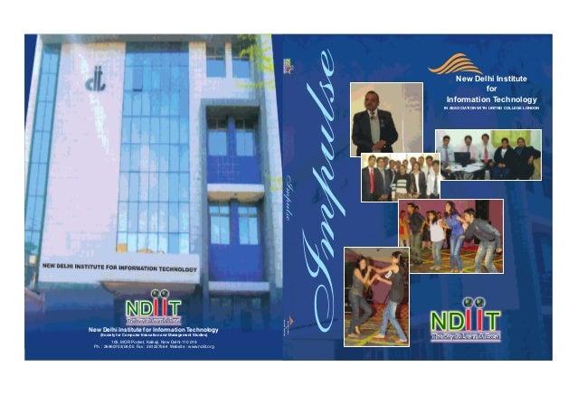 New Delhi Institute for Information Technology(Society for Computer Education and Management Studies)105, MOR Pocket, Kalk...