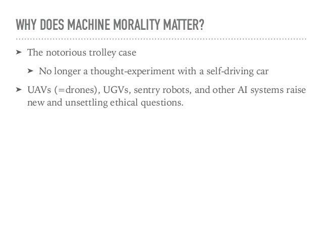 Machine Intelligence and Moral Decision-Making Slide 3