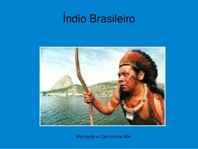 Bernardo e Caio turma 404 Índio Brasileiro