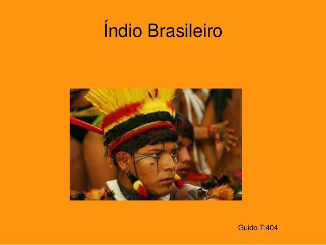 Guido T:404 Índio Brasileiro