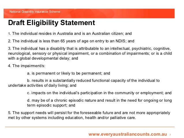 ndis reasonable and necessary guidelines