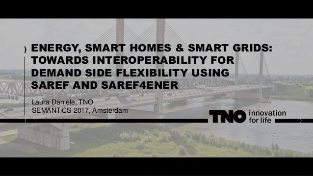 ENERGY, SMART HOMES & SMART GRIDS: TOWARDS INTEROPERABILITY FOR DEMAND SIDE FLEXIBILITY USING SAREF AND SAREF4ENER Laura D...