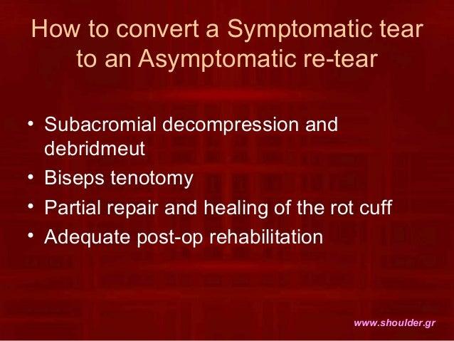 tenotomy protocol