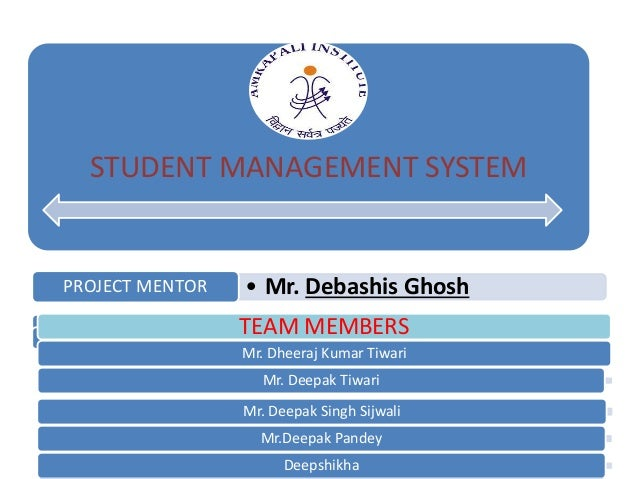 student management system best ppt