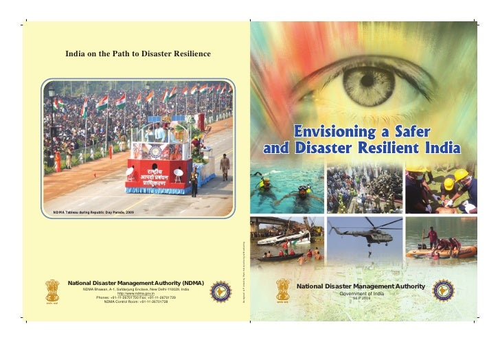 India on the Path to Disaster Resilience     NDMA Tableau during Republic Day Parade, 2009                                ...