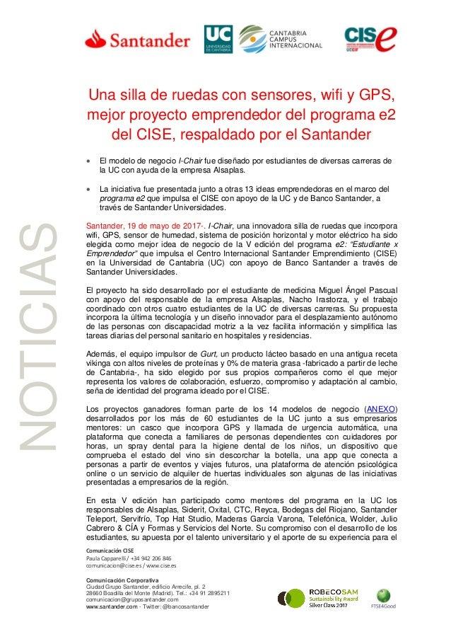 Ruedas Emprende… GpsMejor SensoresWifi De Silla Una Con Y Proyecto WH29EDI
