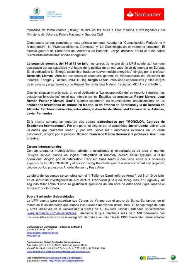 Comunicación Universidad Politécnica de Madrid +34 91 336 36 36 / 36 37 comunicacion.rector@upm.es www.upm.es Comunicación...