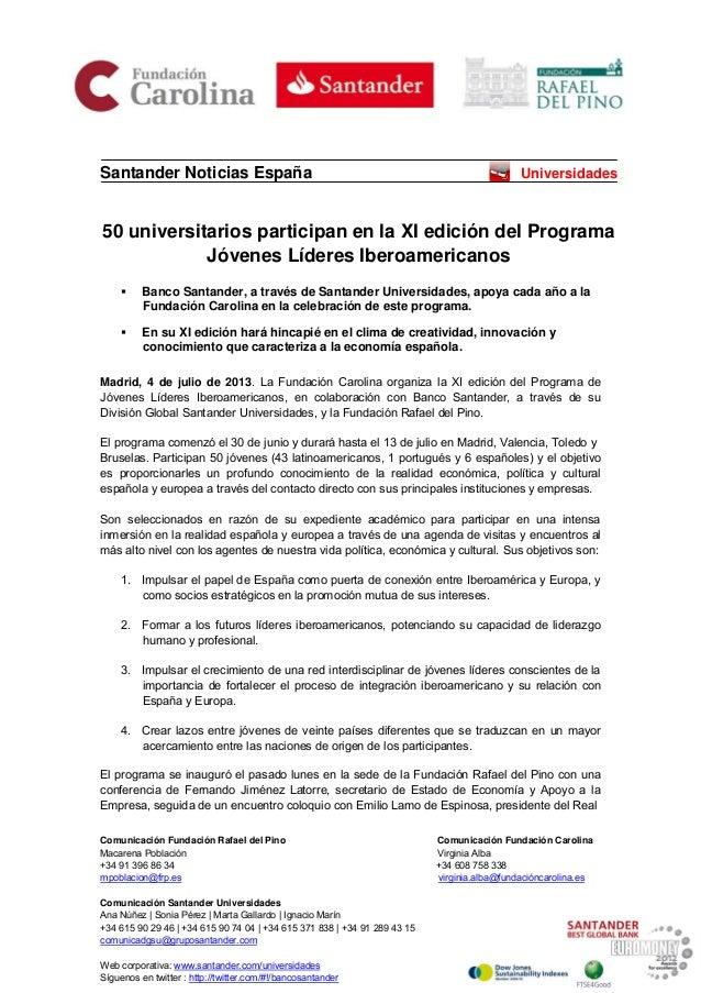 Comunicación Fundación Rafael del Pino Comunicación Fundación Carolina Macarena Población Virginia Alba +34 91 396 86 34 +...