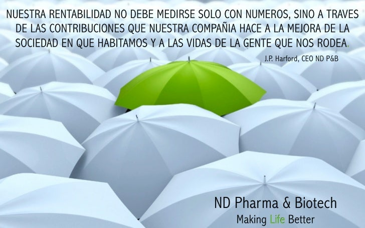 Nd pharma & biotech green umbrella wallpaper