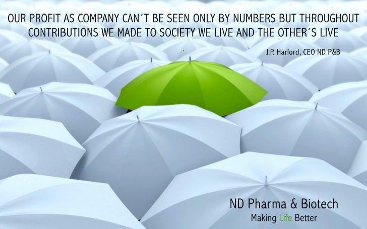 Nd pharma & biotech green umbrella wallpaper english