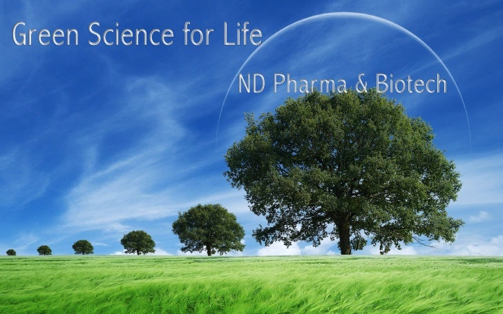 Nd pharma green science for life