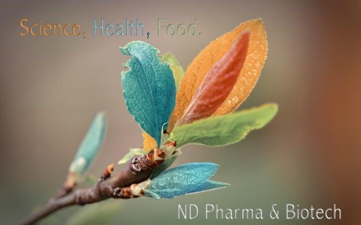 Nd pharma science, health, food,