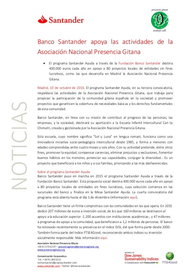 Asociación Nacional Presencia Gitana +34 91 373 62 07 – presenciagitana@presenciagitana.org www.presenciagitana.org Comuni...