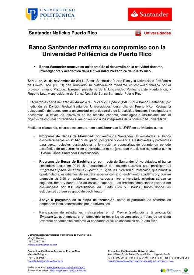 Comunicación Universidad Politécnica de Puerto Rico  Margie Alvarez  (787) 317-0158  margiealvarez@yahoo.com  Comunicación...