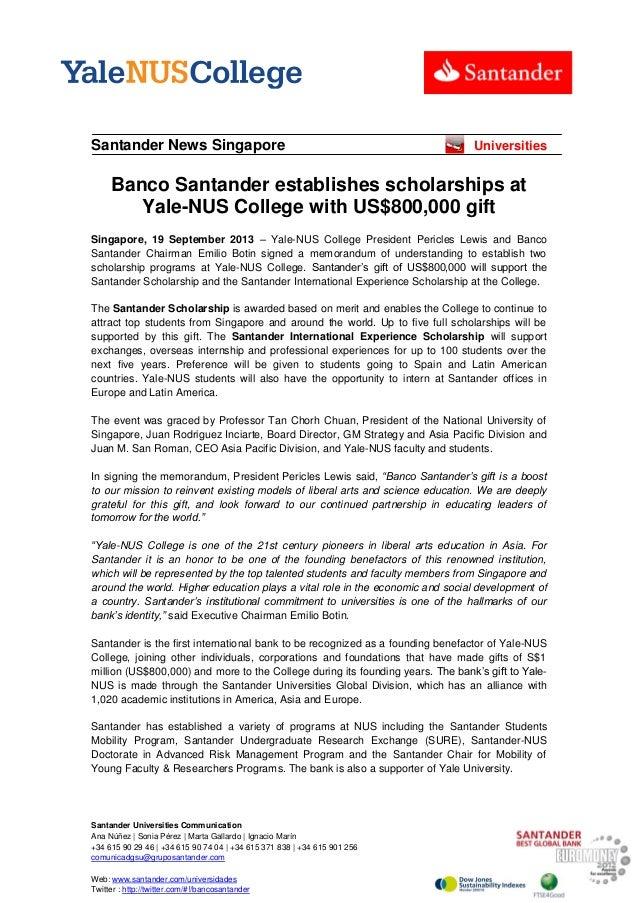 Santander Universities Communication Ana Núñez | Sonia Pérez | Marta Gallardo | Ignacio Marín +34 615 90 29 46 | +34 615 9...