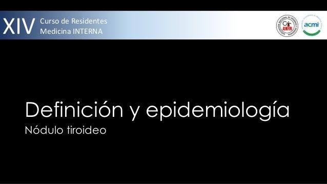 Nódulo tiroideo  Slide 2
