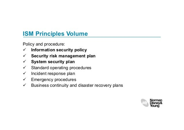 australian government information security manual ism