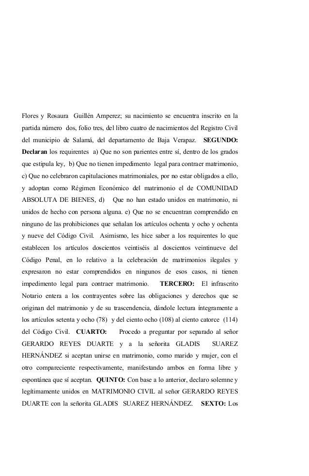 Ne. 28 acta notarial de matrimonio guatemalteca y extranjero