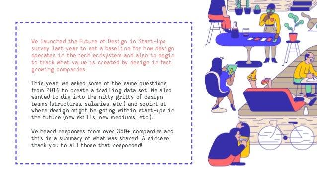 Future of Design in Start-Ups Survey 2017  Slide 2