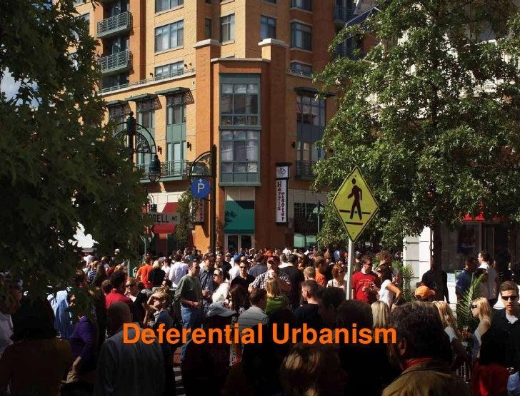 Deferential Urbanism