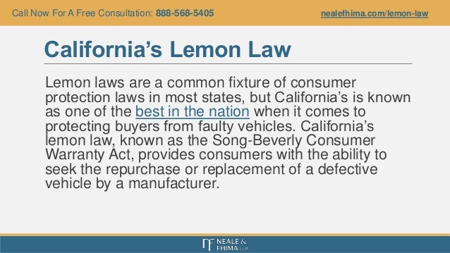 California Lemon Law >> California's Lemon Law: What Consumers Should Know After Buying a Lem…
