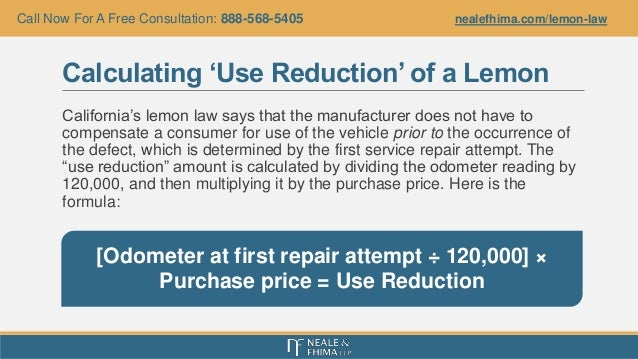 california s lemon law what consumers should know after buying a lem. Black Bedroom Furniture Sets. Home Design Ideas