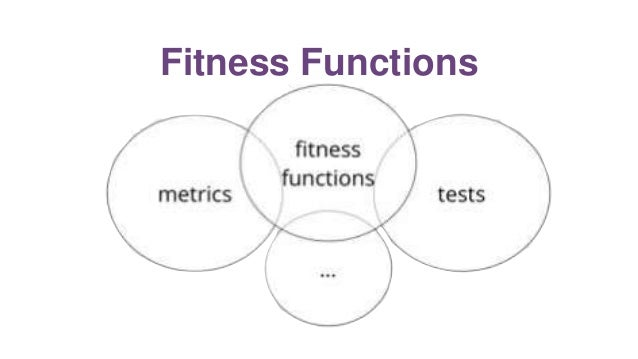 Coupling Fitness Function application