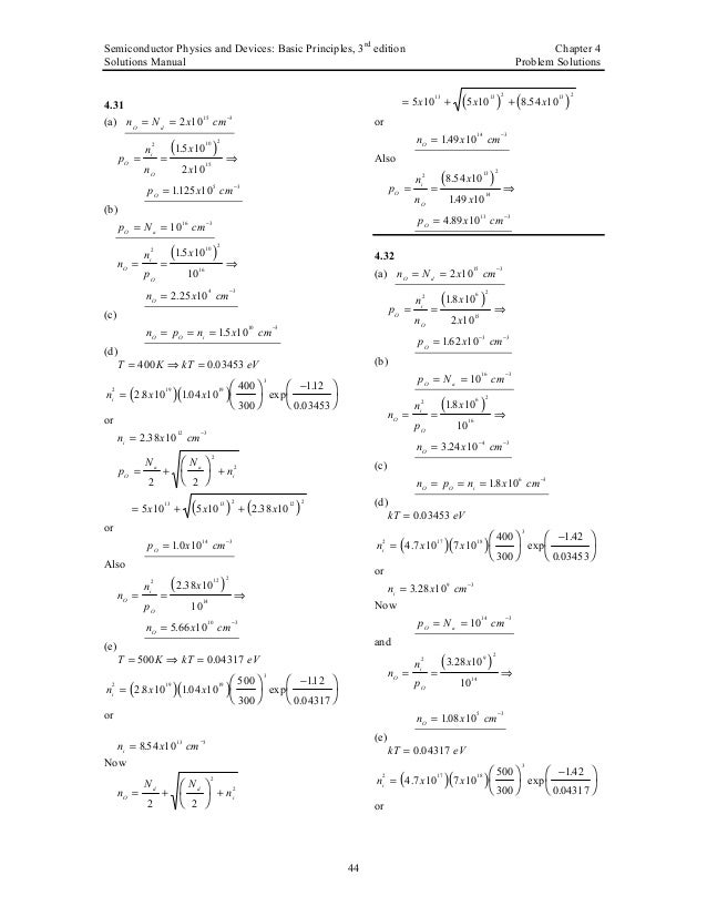semiconductor physics and devices neamen pdf free
