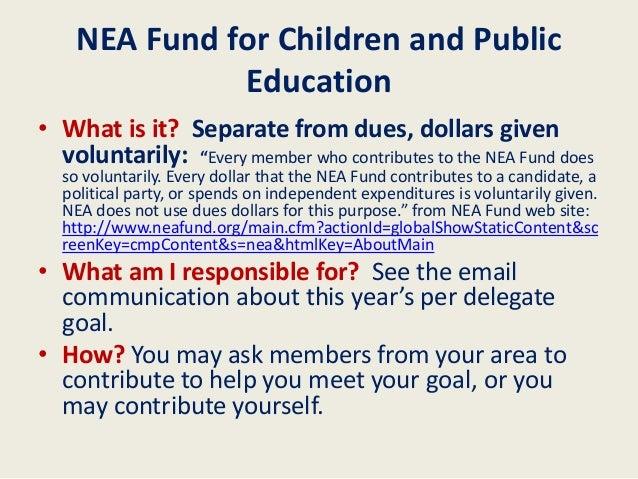 NEA RA New Delegate Orientation